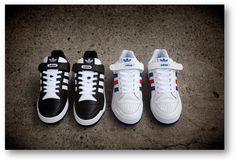 adidas Originals: Forum Lo and Forum Lo RS (Leather Versions)