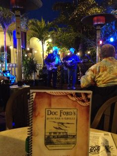 Doc Ford's Sanibel Island, FL. A great spot for lunch, dinner, drinks & live music.