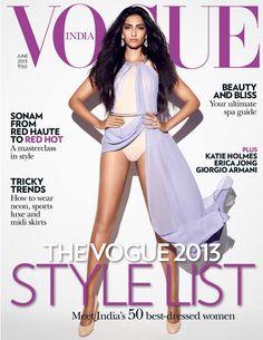 Sonam Kapoor para Vogue India, Junio 2013