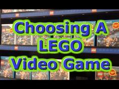 Choosing a LEGO Video Game with Freddie