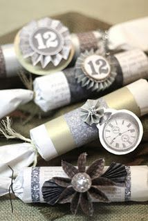 DIY New Year favors
