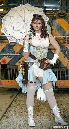 Mary Poppins or what  Steampunk Frilly