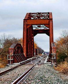 Rustic Railroad Bridge
