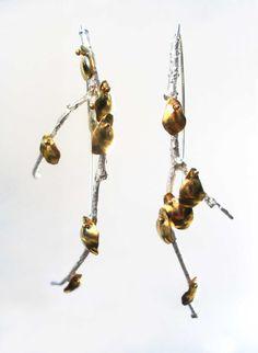 earrings by Carrie Bilbo on Etsy