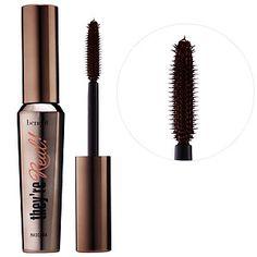 Benefit Cosmetics - They're Real! Lengthening & Volumizing Mascara  in Black #sephora