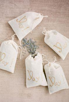 lavender wedding favors