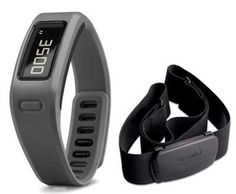 Garmin vivofit™ Slate Bundle follows your progress 24/7, and it can stay on for more than a year without a battery change.