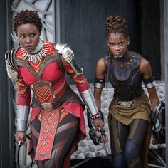 How the Beauty Looks of *Black Panther* Express African Pride and Afrofuturism | Teen Vogue