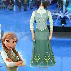 Disney Store Frozen Princess Anna Cosplay Canada Costumes Movie Cosplay Canada Shop Online Very Hot, You Will Get Cheap Prices From Canada OhCosplay Canada Shop. Princess Dresses For Adults, Princess Anna Dress, Disney Princess Dresses, Frozen Princess, Disney Dresses, Frozen Cosplay, Elsa Cosplay, Frozen Costume, Disney Cosplay