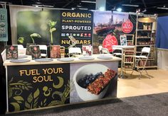 Condit created this portable display for natural product client, Soul Sprout for the Expo West trade show.