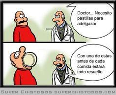 Dieta milagrosa - Humor gráfico