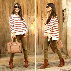 Striped pullover - Temporada: Otoño-Invierno - Tags: look, ootd, jersey, moda, street - Descripción: http://sstardivariuss.blogspot.com.es/2016/11/striped-pullover.html