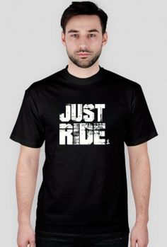 T-shirt snowboard just ride blk m
