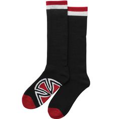 Independent Bar/Cross Socks (Size 9-11/Black/2 Pairs) $16.95