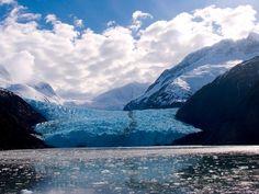 Walk on a glacier...