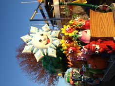 Sesame place Christmas parade