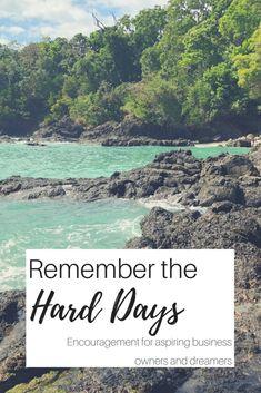 Remember the Hard Da