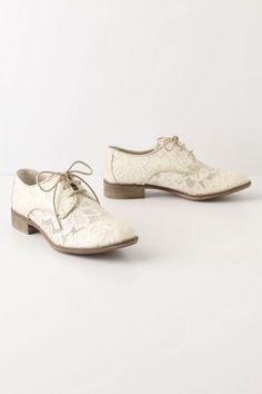 rambler oxfords - I think these would be a cute wedding shoe, too!