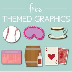 Free Themed Graphics. Click through to find matching games, favors, thank you cards, inserts, decor, and more. Or shop our 1000+ designs for all of life's journeys. Weddings, birthdays, new babies, anniversaries, and more. Only at Aesthetic Journeys