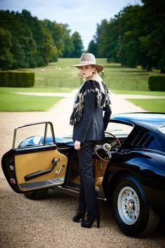 Glamour séduisant : élégant évènement mode organisé par Ralph Lauren au domaine d'Althorp en Angleterre