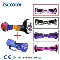"""HOT PRICES FROM ALI - Buy """"Hoverboard Bluetooth Speaker Electric Giroskuter 2 Wheel self Balance Electric scooter unicycle Standing Smart two wheel scooter"""" from category """"Sports & Entertainment"""" for only USD. Scooter Price, E Scooter, Electric Bicycle, Electric Scooter, Two Wheel Scooter, Monocycle, Car Polish, Wireless Headphones, Shopping"""