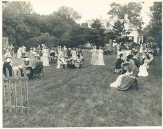 1945 Phi Mu Tea Party