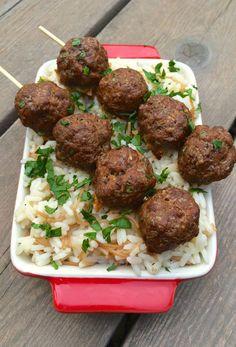 Greek Meatballs Recipe {Gluten Free} Recipe