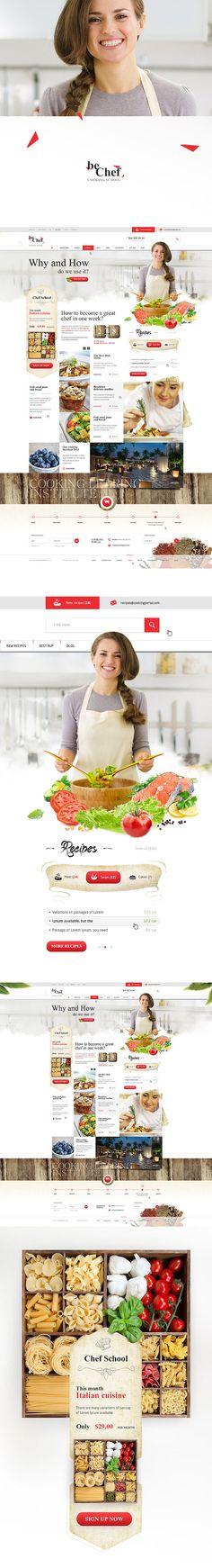 https://www.behance.net/gallery/16817115/beChef-Cooking-school
