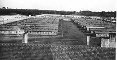 Women's concentration camp barracks