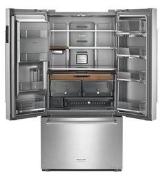 "23.8 cu. ft. 36"" fridge by KitchenAid"