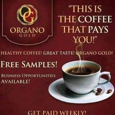 Organo Gold and and The Napoleon Hill Foundation have Partnered with the aim of creating a Billion dollar coffee company that spreads the Think and Grow Rich message around the world. Learn more here. Coffee Drinks, Coffee Cups, Coffee Health, Coffee Today, Think And Grow Rich, Coffee Company, Tea Infuser, Chocolate Coffee, Free Samples