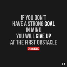 If you don't have a strong role in mind you'll give up at the first obstacle