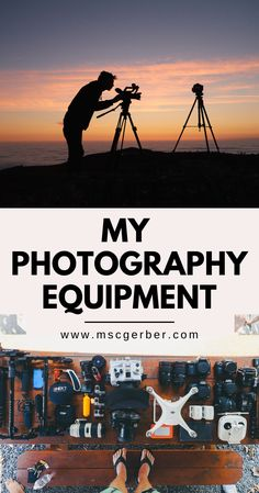 "Whenever someone asks me questions this is one of the first that I get asked: ""What equipment do you use to take your images and videos?"". I get this question frequently while traveling and on my Social Media accounts. Therefore, I decided to make this quick list and overview. This is the equipment I use to create all my content. Photography Gear, Photography Equipment, Photography Tutorials, Bucket List Destinations, Travel Destinations, Travel Photographer, Taking Pictures, Your Image, Traveling"