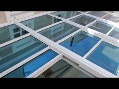Retractable Glass Roof Installation   YouTube