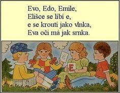 ABECEDA PÍSMENO E Evo, Comics, Children, Young Children, Boys, Kids, Cartoons, Comic, Comics And Cartoons
