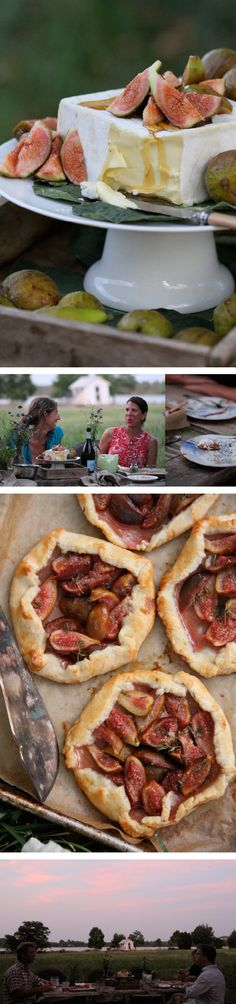 Beautiful images from an outdoor dinner party {Margaret and Joy}