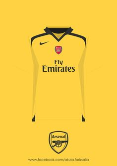 My appreciation to my favourite football team since i was 10 years old. Arsenal kit collection from season to and includes Arsenal next season kit, sponsor by Puma even its still not official yet. Fifa Football, Retro Football, Football Design, Arsenal Football, World Football, Arsenal Kit, Arsenal Jersey, Soccer Skills, Soccer Tips