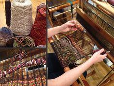 juliet martin, fiber art, saori, fine art, weaving, Wheel Magazine