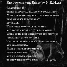 "529 Likes, 7 Comments - N.R.Hart ❤️ (@n.r.hart) on Instagram: """"Beauty and the Beast""  reposting for my old & new followers!❤️@n.r.hart #nrhartpoetry…"""