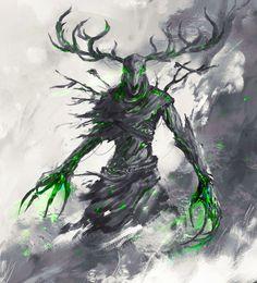 Shadow Creatures, Dark Creatures, Mythical Creatures Art, Fantasy Creatures, Monster Concept Art, Fantasy Monster, Monster Art, Dark Fantasy Art, Fantasy Artwork