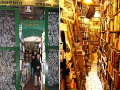 World's Best Bookstores: Shakespeare & Co. Antiquarian Books, Paris // been here. got a date with a creepy poet here. yes I did. because I could.