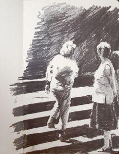Moleskine #010 graphite pencil drawing