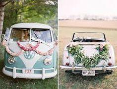 Resultado de imagen de vehiculos originales para bodas