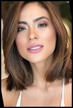 Women looking for a no-hassle hairdo, medium hairstyles work wonders! They're the perfect length for just about any style, but don't require as much work as really short or longer hairstyles. Here's why medium length hair is easy to maintain and healthy hairstyling ideas for your face type.#Hairstyles #Maintain #Easiest #Medium #Why hairstyles for medium length hair easy Why Medium Hairstyles Are The Easiest To Maintain 33+   hairstyles for medium length hair easy Hair Styles For Women Over 50, Short Hair Styles Easy, Medium Hair Styles, Hairstyles For Medium Length Hair Easy, Braided Hairstyles, Pixie Haircut Styles, Hair Length Chart, Face Shapes, Hair Lengths