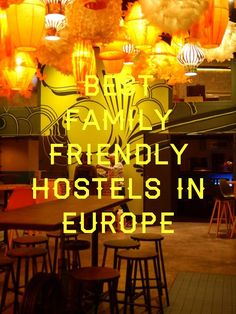 When people think of hostels, we tend to associate them as the bastion of twenty something, party mad backpackers. Family friendly hostels though? Here's my guide to the new breed of family friendly, design conscious hostels. Backpacking Europe, Europe Travel Tips, Travel Abroad, Travel Trip, European Vacation, European Travel, Family Vacation Packages, Family Vacations, Backpack Through Europe
