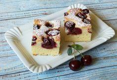 Meggyes kevert süti French Toast, Cheesecake, Pudding, Baking, Breakfast, Sweet, Food, Morning Coffee, Candy