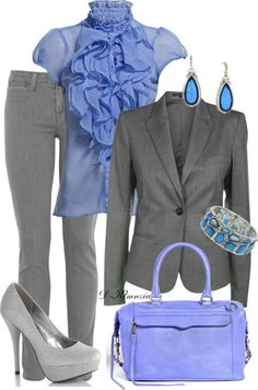 """""""LAPIS LAZULI"""" by clemencia-gonza on Polyvore"""