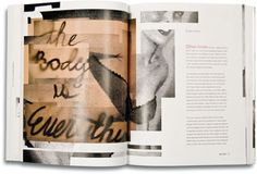 the body is everything by Sean Serafini Print Layout, Everything, Grid, Editorial, Typography, Magazine, Mugs, Book, Prints