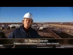 Temple Grandin walks you through how cattle are humanely processed. Watch it and learn in detail how cattle are moved and processed from the truck to the retail market.