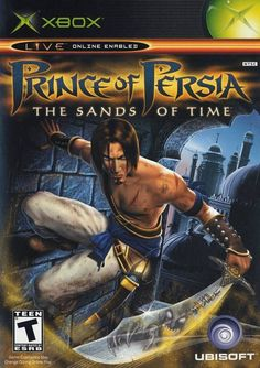 Prince of Persia The Sands of Time (Playstation Ubisoft) *Complete T Prince Of Persia, Gamecube Games, Xbox Games, Games Ps2, Playstation 2, Splinter Cell, Video Game Posters, Dark Power, Video Game Collection
